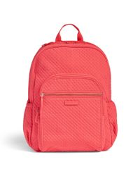 Vera Bradley Pink Iconic Campus Backpack