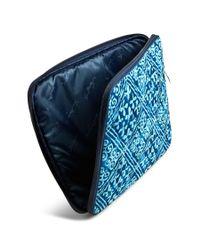 Vera Bradley - Blue Laptop Sleeve - Lyst