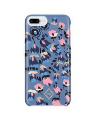 Vera Bradley Blue Flexible Phone Case 6+/7+/8+