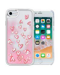 Vera Bradley Pink Glitter Flurry Case For Iphone 7/8