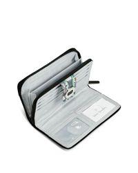 Vera Bradley Multicolor Rfid Turnlock Wallet