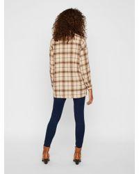 Vero Moda Natural Oversize Hemd