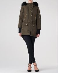 Veronica Beard | Green East End Parka Exclusive | Lyst