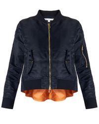 Veronica Beard Black Arlington Flight Jacket Exclusive