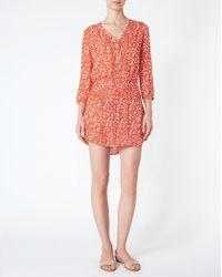 Veronica Beard | Red August Boho Dress | Lyst