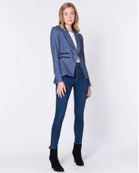 Veronica Beard Blue Gia Dickey Jacket Exclusive