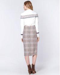 Veronica Beard Multicolor Melor Skirt