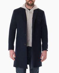 Veronica Beard - Blue Car Coat for Men - Lyst