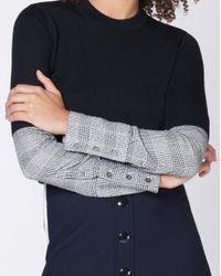 Veronica Beard Black Roscoe Sweater