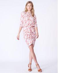 Veronica Beard Pink Della Dress