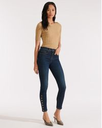 Veronica Beard Blue Debbie High-rise Skinny Jean