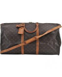 Louis Vuitton Multicolor Keepall Leinen Reisetaschen
