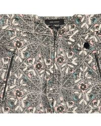 Pantaloni in cotone multicolore di Isabel Marant in Gray