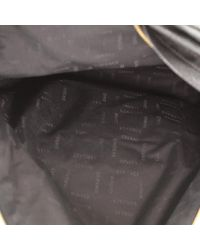 Versace Black Leder Rucksäcke