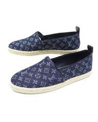 Espadrilles Louis Vuitton en coloris Blue