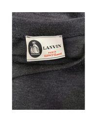 Lanvin Multicolor Wolle Mini Kleid