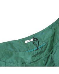 Miu Miu Green Polyester Skirt