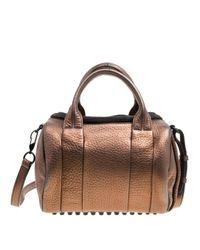 Alexander Wang Brown Rocco Leder Handtaschen