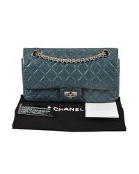 Chanel Blue 2.55 Leder Cross Body Tashe
