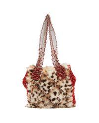 Versace Multicolor Kaninchen Handtaschen