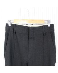 Pantaloni in lana grigio \N di Étoile Isabel Marant in Gray