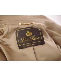 Loro Piana Multicolor Camel Cashmere Coat