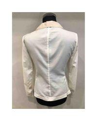 Chaqueta en sintético blanco \N Brunello Cucinelli de color White