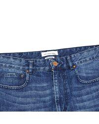 Étoile Isabel Marant Blue Cotton Shorts