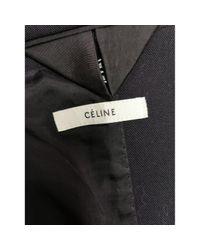 Céline \n Black Wool Jacket