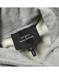 Top in cotone grigio di Marc Jacobs in Gray