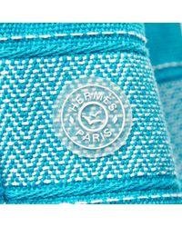 Mochila de Lona Hermès de color Blue
