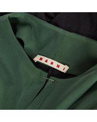 Marni Green Cotton Top