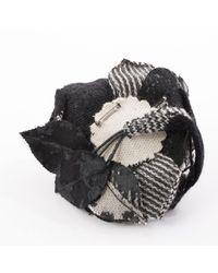 Broche negro Valentino de color Black