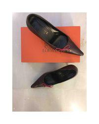 Loewe \n Brown Leather Heels