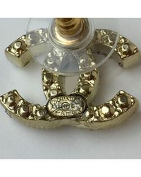 Chanel Metallic Cc Gold Metal