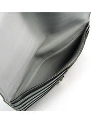 Hermès Gray Dogon Leder Portemonnaies