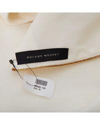 Robes Roland Mouret en coloris White