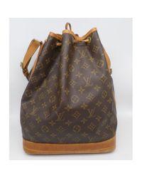 Sac à main Noé en Toile Marron Louis Vuitton en coloris Brown