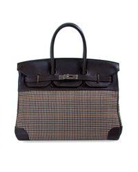 Hermès Black Birkin 35 Leder Handtaschen