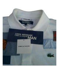 Comme des Garçons Pre-owned White Cotton Polo Shirts for men