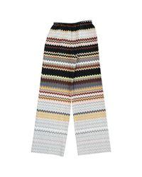 Missoni Multicolor Wool Large Pants