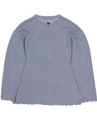Dior Blue Kaschmir Pullover