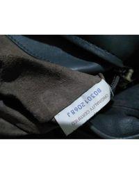 Bottega Veneta Leder Business Tasche in Gray für Herren