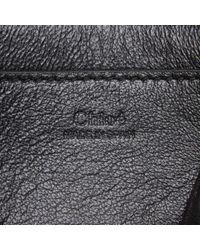 Chloé Black Leather