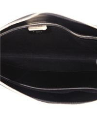 Givenchy Black Leder Clutches