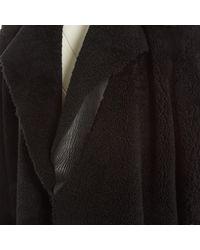 Abrigo en oveja negro \N Céline de color Black