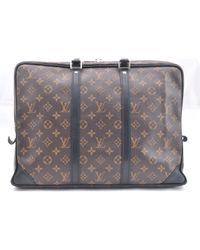 Louis Vuitton Leinen Taschen in Brown für Herren