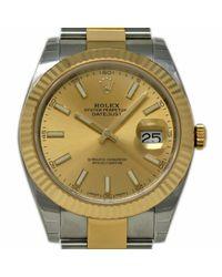 Rolex Datejust Ii 41mm Uhren in Natural für Herren