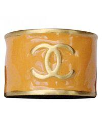 Chanel - Orange Ring - Lyst