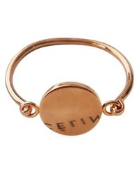 Céline - Metallic Pre-owned Coin Bracelet - Lyst